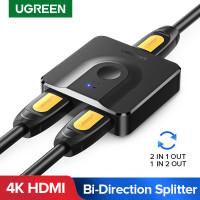 UGREEN MATRIX HDMI SPLITTER SWITCH 4K 60HZ AUDIO ADAPTER PS4 TV BOX