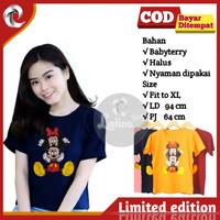 Kaos Tshirt Atasan Wanita Cewek Cewe Abg Remaja Mickey2 Babyterry