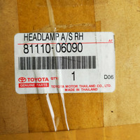 Head Lamp Camry 3000cc tahun 2002-2006 Original HID 81110-06090 /81150