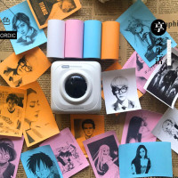 Kertas Stiker Thermal Photo Printer Peripage Paperang Inkless 58mm