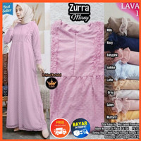 Baju Muslim Wanita Dress Gamis Brukat Tile Remaja Busui Model Terbaru