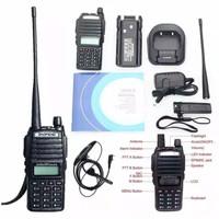 bao feng Radio Ht Handy Talky Baofeng Uv 82 + Headset UV82 Original