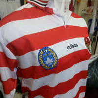 Jersey Baju Bola Timnas Indonesia Home Retro Classic Sea Games 1999
