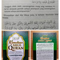 terjemah attibyan piadab hamalatil qur'an | kemuliaan ahli qur'an