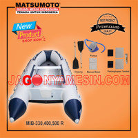 PERAHU KARET 6 ORG SIZE 3 X 1.5 M | INFLATABLE BOAT MATSUMOTO MIB-330R
