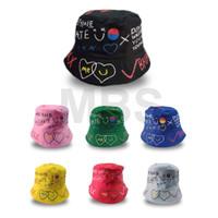 Topi bucket korea badas anak anak