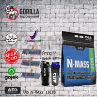 ANS NMASS / N-MASS 15LBS GAINER bulking suplemen fitness