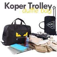 Tas Koper Ransel dan Duffel Gym Travel Bag Pria Wanita