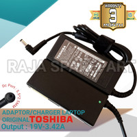 Adaptor Charger Laptop Toshiba Satellite C800 C840 19V-3.42A