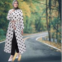 Baju Setelan Celana Wanita Remaja Hijab Modis Kekinian Terbaru 2021