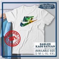 Baju Kaos Nike Grafiti Premium Quality Katun Combed 30s 100%