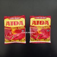 Cabe Giling Aida / Bubuk Cabai Aida 25gam PEDAS ALAMI