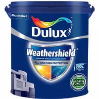 cat tembok dulux weathershield Brilliant white 1 pail @20kg