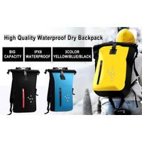 Premium Dry Bag Waterproof Model Rangsel Tas Tahan Air 25L (M01)