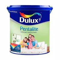Cat tembok interior dulux pentalite Brilliant white 1 pail @20kg