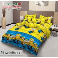 Bed Cover Set - MINION (Rumbai) - Lady Rose - 160x200 (Queen)
