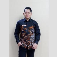 baju batik pria motif naga macan