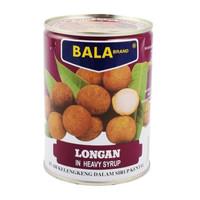 Buah Kelengkeng Kaleng/ Bala Brand Longan in Heavy Syrup