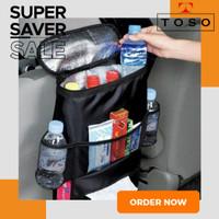 TAS POUCH THERMAL KURSI MOBIL CAR BACK SEAT STORAGE TISSUE ICE BAG