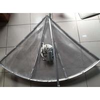 Gardiner Putih 6.5 Feet Mesh Jaring Antena Parabola Satelit C Band