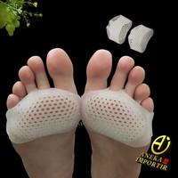 Bantalan Dampal Kaki Alas Sepatu Insole Silikon Metatarsal Cushion