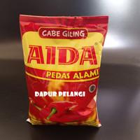 Cabe Giling Aida / Bubuk Cabai Aida 250gam PEDAS ALAMI