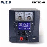 WEP 1503D II DC Power Supply 3A Digital With Super Charger 3.0