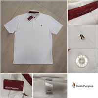 Hush Puppies Basic Polo Shirt Original - White
