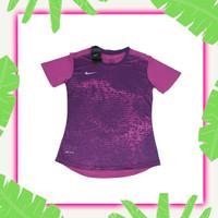 Women Sportwear Baju Olahraga Wanita Pakaian Atasan Cewek Sport Ungu