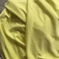 Kaos katun TC/bahan kaos meteran/kaos meteran warna lime