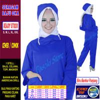 Baju Oka / Baju Perawat , Lengan Panjang, Pria & Wanita READY 22 Warna