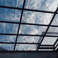 canopy atap spandek transparan