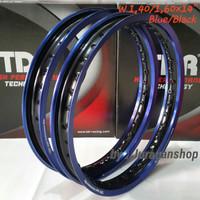 VELG TDR 2 tone WX 1.40&1.60 Ring 14 Blue/Black