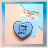 Popsocket Korea Phone Holder Griptok Love Good For You - Aksesoris HP - Blue Love