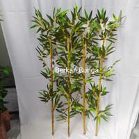 bambu partisi artificial- bambu plastik- partisi