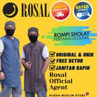 Baju Muslim Kaos Kurta Rompi Sholat Shalat Pria Rosal M XXXL Big Size