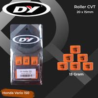 Roller CVT Racing DY 13 gr untuk Suzuki Skydrive/skywave,honda PCX/ADV