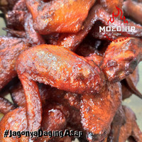 Smoked Chicken Wings Sayap Ayam Asap Frozen Vacuum Pack - Moedhir