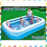 BESTWAY kolam Renang Anak dan keluarga JUMBO ban karet 2.62m - 54006
