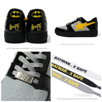 Bape x DC Batman Bape Sta Low Sneaker