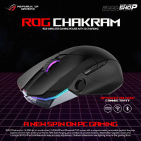 ASUS ROG Chakram RGB Wireless Gaming Mouse with Qi Charging