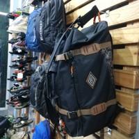 Tas Duffel Eiger Duffle Backpack M 40L Black BEST PRICE