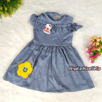 Dress Sabrina Terbaru 1-3 Tahun / Pakaian Anak Perempuan / baju anak
