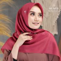 Hijab Segi Empat AR 369 Bahan Voal By Arrafi