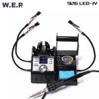 WEP 926 LED Generasi IV Soldering Iron 3 Channel Kaca Pembesar Jepitan