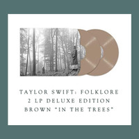 "Taylor Swift - Folklore - Brown ""In The Trees"" - 2 LP Vinyl PH"