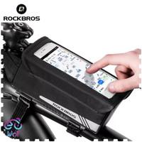 ROCKBROS B52 Tas Sepeda Bag Bicycle Front Tube Waterproof MTB 6.2 Inch