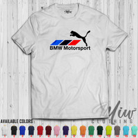 Kaos Distro Pria Wanita BMW Motorsport PUMA