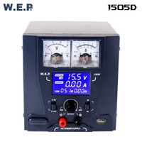 WEP 1505D 15V 5A/1A Regulated Laboratory DC Power Supply USB