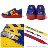 Bape x DC Superman Bape Sta Low Sneakers
